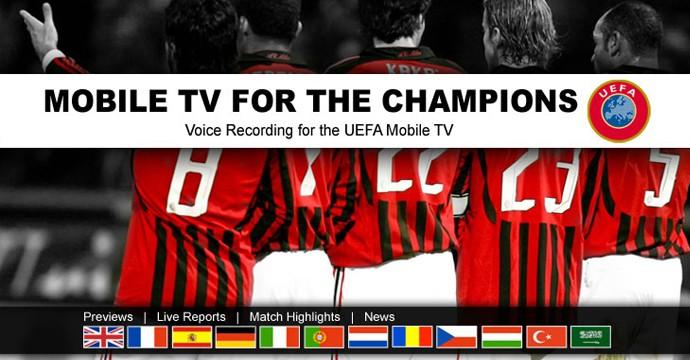 Мобильные услуги для УЕФА