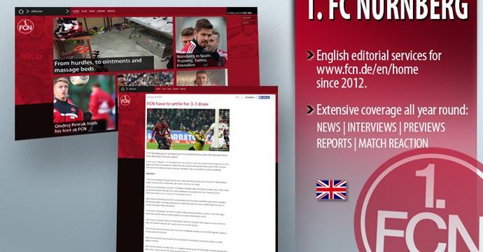Международные редакционные услуги для клубов Бундеслиги