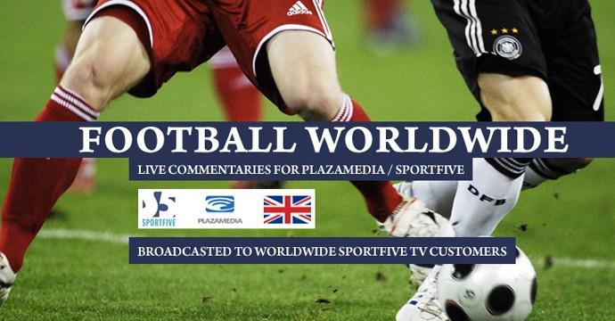 Комментрирование в прямом эфире матчей по всему миру