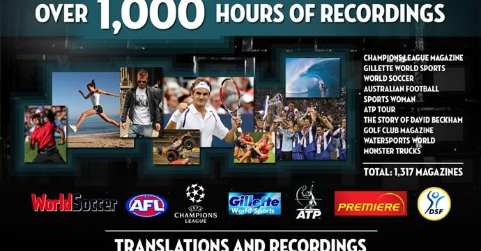 Traduzione e speakeraggio di numerosi format televisivi