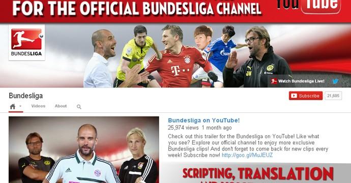 خدمات تحريرية لقناة الدورى الألمانى على اليوتيوب