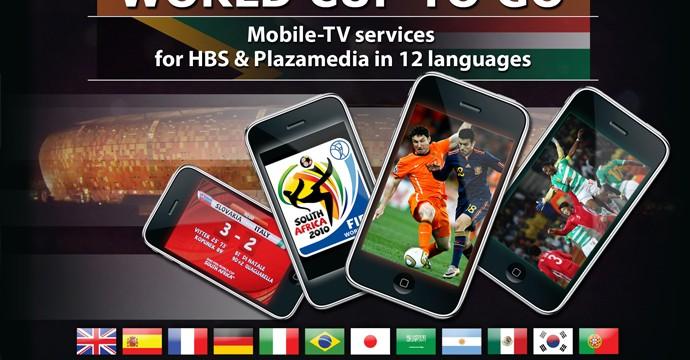 Servizi per piattaforme mobile della Coppa del Mondo